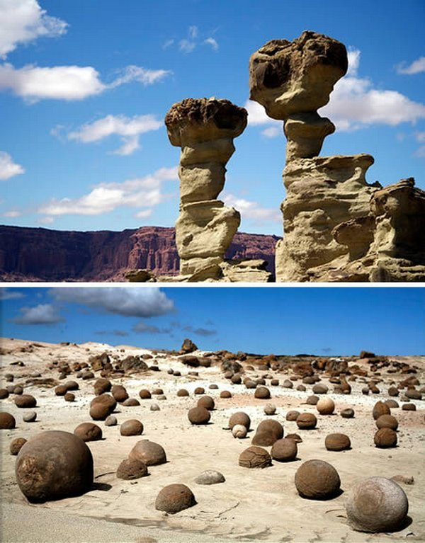 Лунная долина в Аргентине (The Valley of the Moon, Argentina)